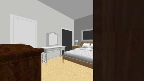 Master bedroom w_armoire - Bedroom - by jherring328