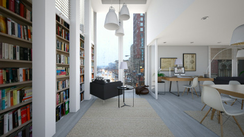 intrerior and rain - Modern - Living room - by sometimes i am here