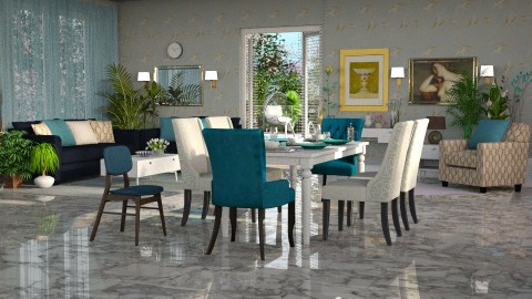 Jaya Calypso panorama - Eclectic - Living room - by anchajaya