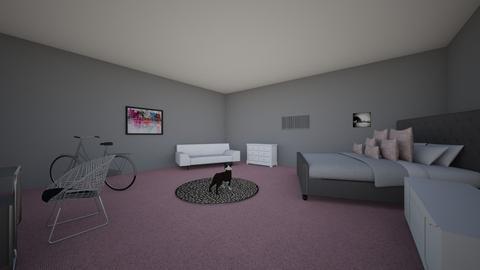 paige brawdy - Bedroom - by paigebrawdy