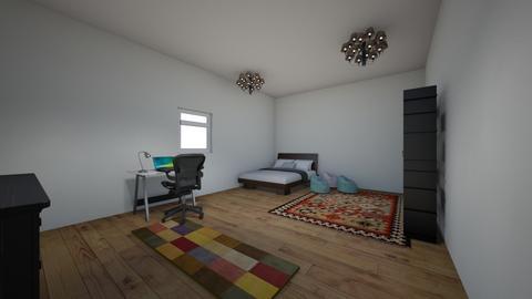 Lukes Room - Bedroom - by hiimlukee