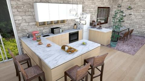 petu - Dining room - by andaq
