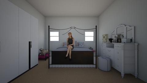 Master Teenage Bedroom - Bedroom - by Jordin12
