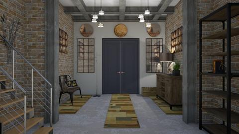Entryway Design II - Living room - by Tzed Design