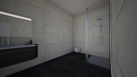 bedroom and bathroom - Bedroom - by DanDanDanBEN