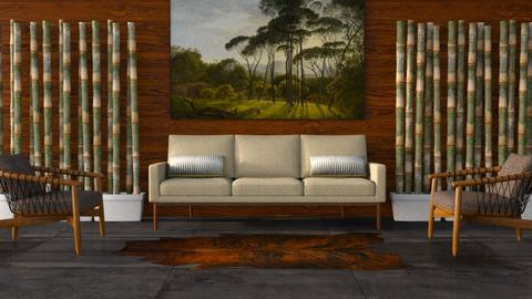 Merbau Wood - Living room - by millerfam