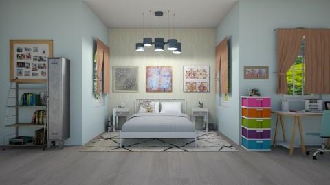 teen bedroom nook - by bella4002