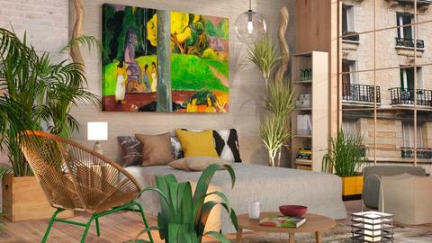 Fauve - Eclectic - Bedroom - by Sally Simpson