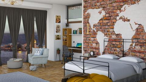bedroom_Georgian style 2 - Bedroom - by maritaaslamazashvili