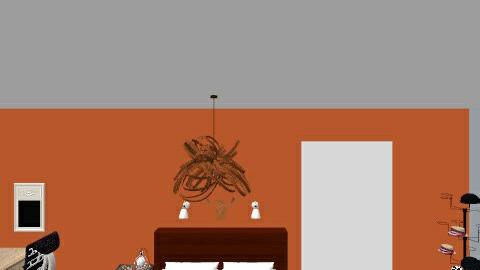 My_room - Modern - Bedroom - by Jonah Tyree