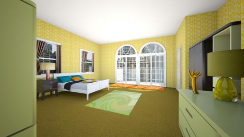 Bedroom Modular - Retro - Bedroom - by manicpop