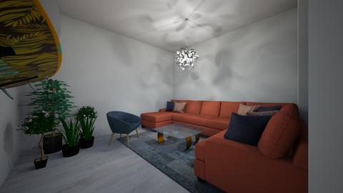 Beachy living room - Living room - by emmyrosenberger