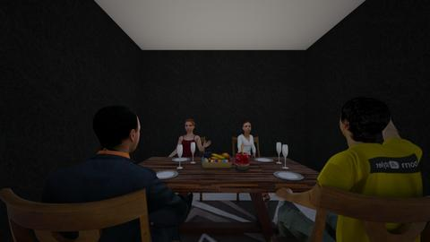 dinning  - by camilian_the_3rd