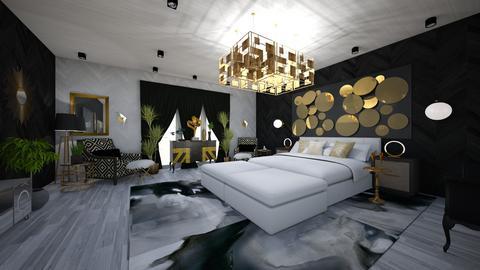 Glamour Bedroom Design - Glamour - Bedroom - by danes
