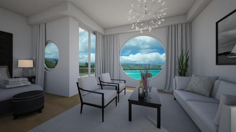 Seaside hotel - by Tuitsi