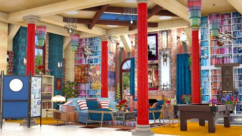 maximalism - Living room - by iamthearchitect