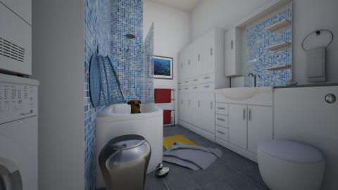 For Nikki 3 - Eclectic - Bathroom - by Theadora