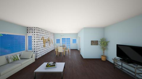 Analises Living Room - Retro - Living room - by Analise De Leon Villanueva