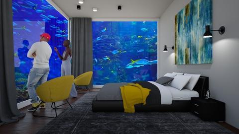 Playful Bedroom - Bedroom - by Tzed Design