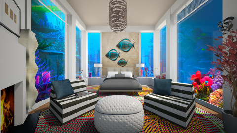 Sea Things - Eclectic - Bedroom - by channing4