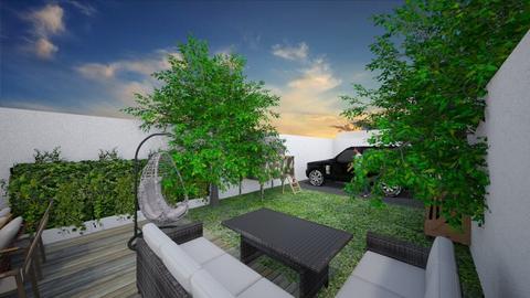 Modern garden - Garden - by Mesehabbal