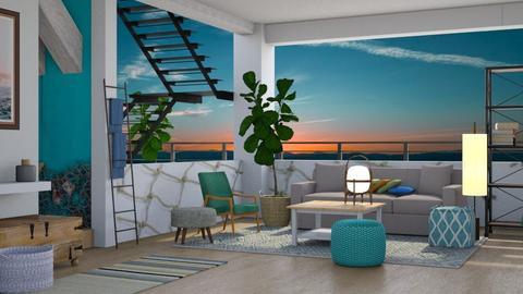 Nautical Night - Modern - Living room - by millerfam