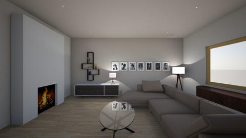 Living Room Fireplace  - Living room - by Sanja S