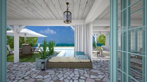 Caribbean - Garden - by Lizzy0715