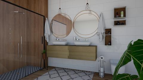 Room For Two - Rustic - Bathroom - by Joy Mk