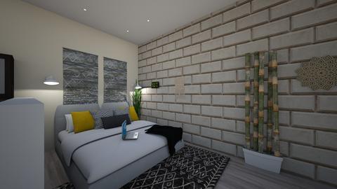 NEW YORK STUDIO bedroom - by dreabaas14