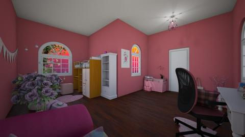 Friends room - Bedroom - by LadyNight