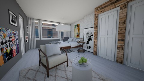 Bedroom redesign - Modern - Bedroom - by bgref