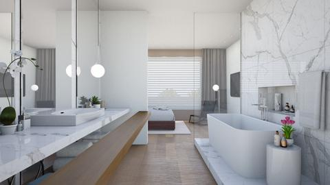 modern bath - Modern - Bathroom - by gsmi2057