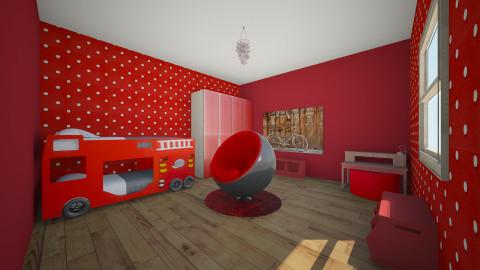 jakobroom - Masculine - Kids room - by Josef Bob