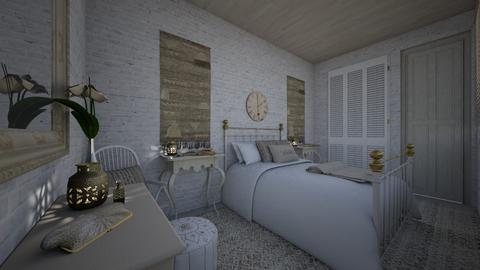 cream - Bedroom - by daydreamer84