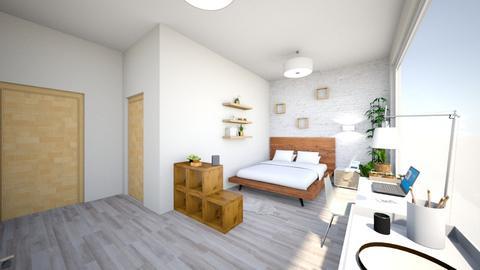 Neutral Aesthetic Bedroom - Bedroom - by carleym