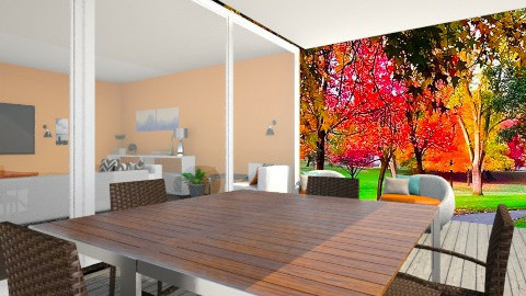 Orangeworld1 - Living room - by saraa_kocsis