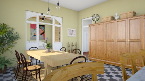 for Conchy 2 - Eclectic - Kitchen - by russ
