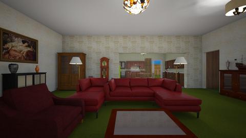 Family LR Retro - Living room - by WestVirginiaRebel