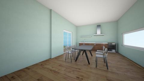 countrey kitchen - Kitchen - by the desingner