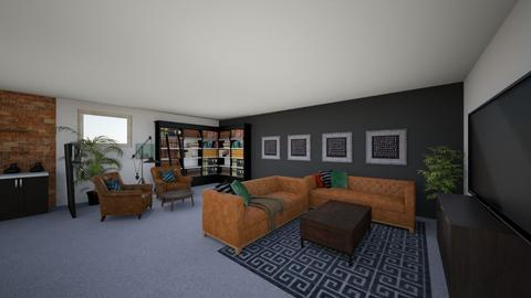 Doshi Living Room V1 - Living room - by louisdhe