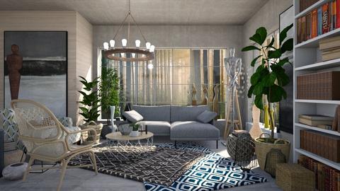 SEA - Living room - by atiyahanisah