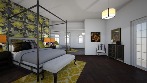 Chic Yellow Brown - Glamour - Bedroom - by Ster