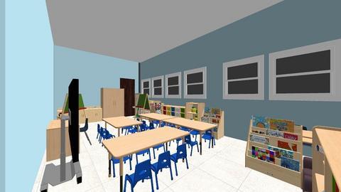 Kindergarten room - Kids room - by UDPXGGAKFDGLTRTKMCAMYGLDMPGZUPX