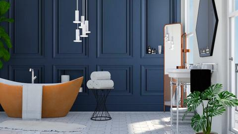 Panel Bathroom - Bathroom - by ArtHousedeco