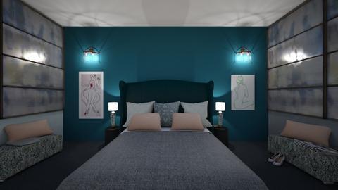 Green and Blue Dream - Bathroom - by Deasye