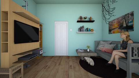 Living Room 2 - Living room - by Asura Kunvara