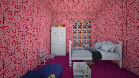 Girls Bedroom - Modern - Kids room - by InteriorDesigner111