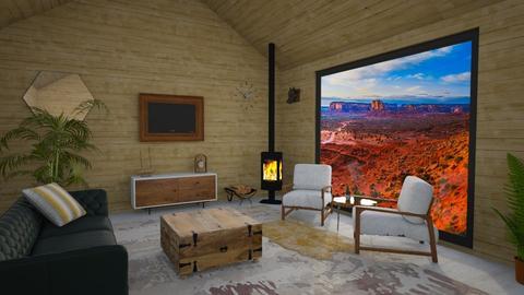 Wood - Living room - by kyrabaldwin