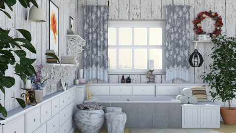 White Wood - Bathroom - by Lye